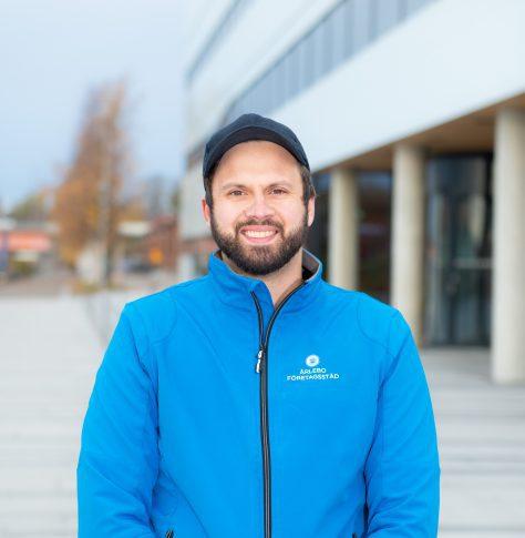 Tobias Ärlebo VD Ärlebo Företagsstäd i Umeå